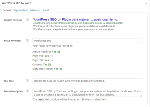 SEO WordPress Post