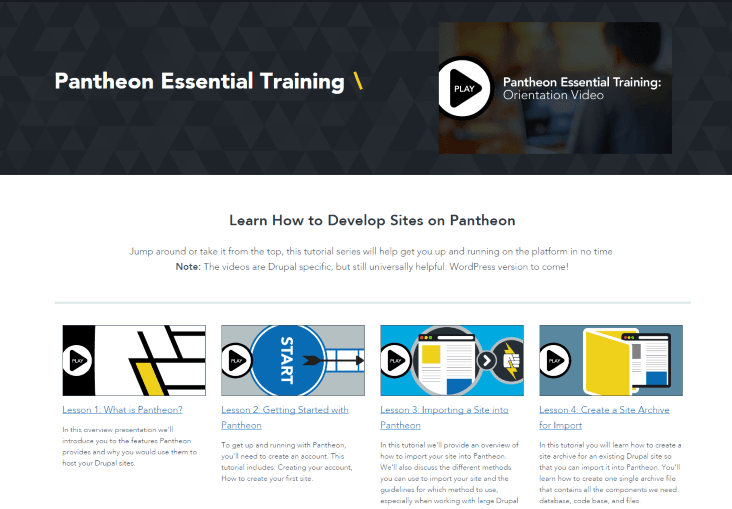 Pantheon-Essential-Training