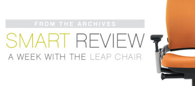 leap chair employee review day 1