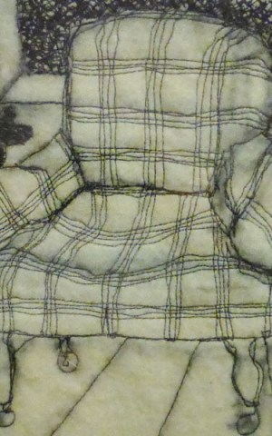 Armchair – Textile Drawing