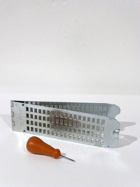 Braille Frame