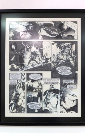 Judge Dread Original Comic Artwork