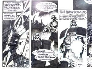 Judge Dread Original Comic Artwork