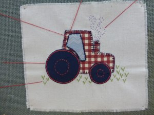 Embroidery Guild's Stitching Session – Part I At The Smart Gallery On Saturday The 5th Of April 2014.
