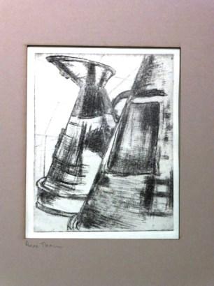 Anne Thompson's Drypoint Prints