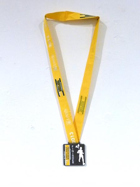 2013 Leeds Half Marathon Finisher Medal