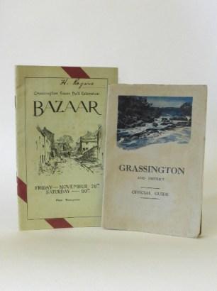 Bazaar- Booklet & Grassington District Official Guide, 1930s