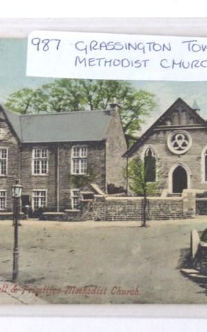 Postcard Of Grassington Town Hall