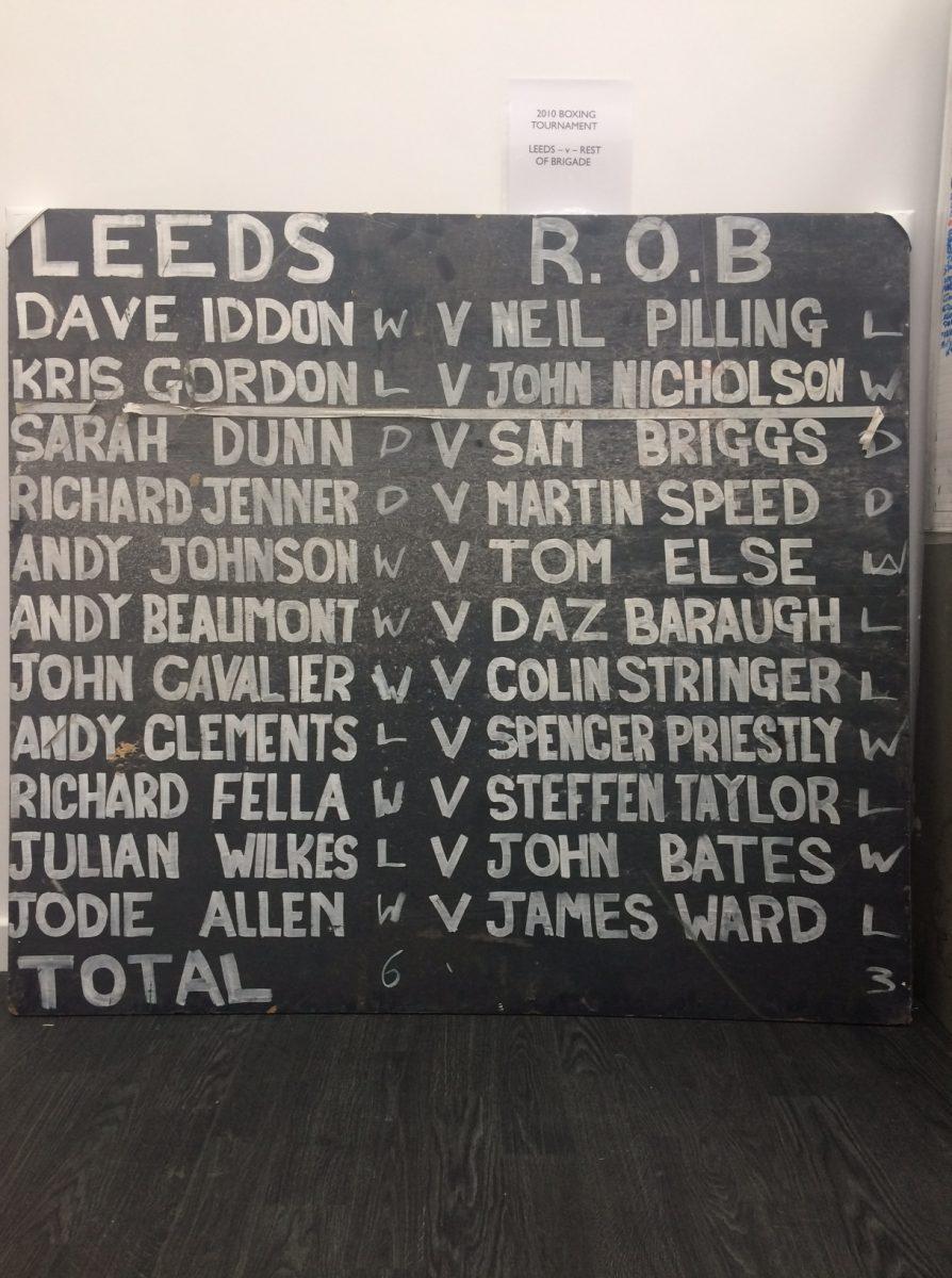 Leeds Vs Rest Of Brigade Boxing Match
