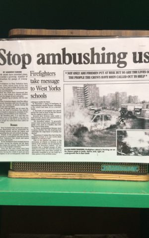 Firefighters Come Under Attack