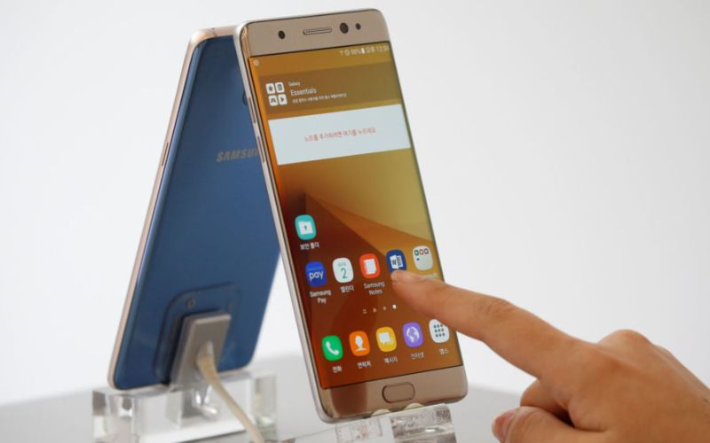 """Note 7 Samsung to push updates that """"kills off"""" the exploding Note 7"""