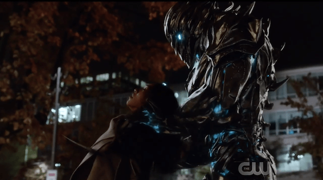 savitar kills iris west on the flash 216052 Flash: Who is Savitar, Ronnie Raymond or Future Barry?