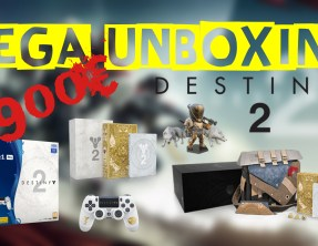 Unboxing – Destiny 2 – Edition Collector + PS4 PRO + Goodies…