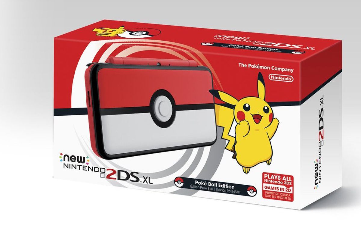 NINTENDO NEW 2DS XL POKÉ BALL EDITION