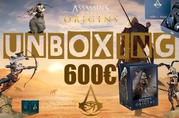 Unboxing – Assassin's Creed Origins : Tous les Collectors du jeu !