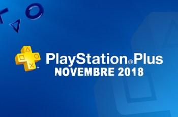 Playstation Plus : On connait les jeux de Novembre !