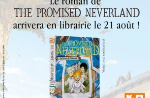 The Promised Neverland : un roman pour août 2019 !
