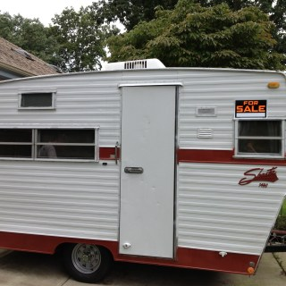 My Very Own Vintage Camper