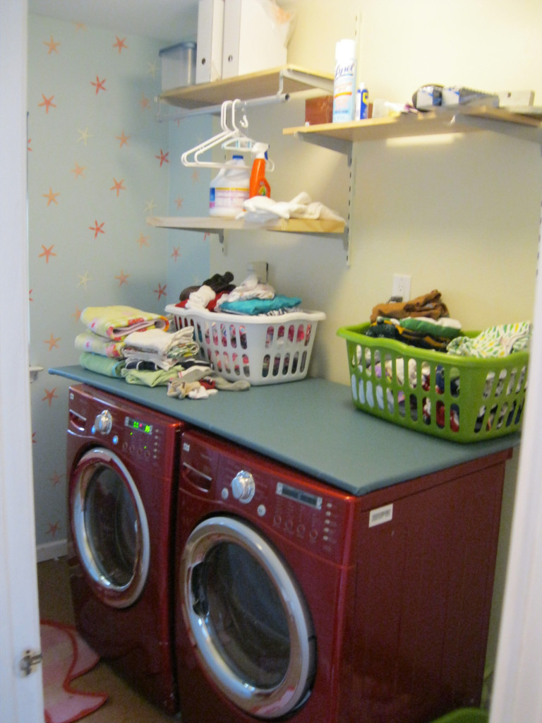 Laundry Room - initial renovation