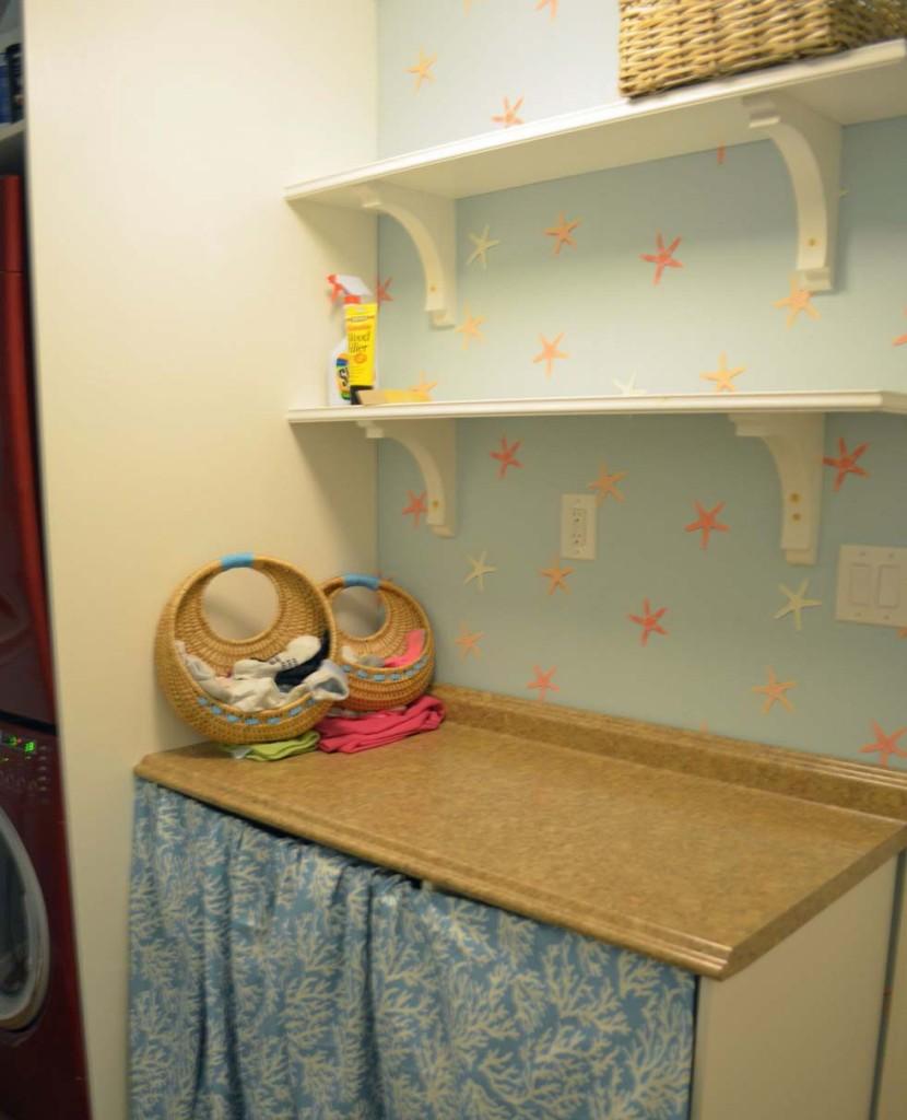 Smart Girls DIY - 2 Laundry Room Shelves 2