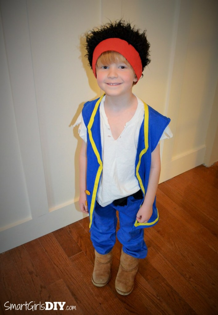 DIY Jake and the Never Land Pirates Halloween Costume