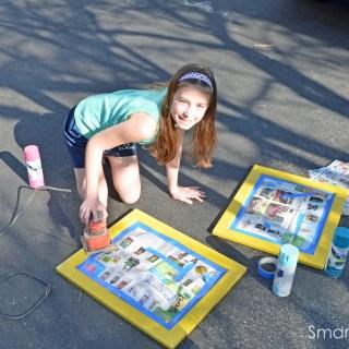 Smart Jr.'s Dry Erase Board Makeover