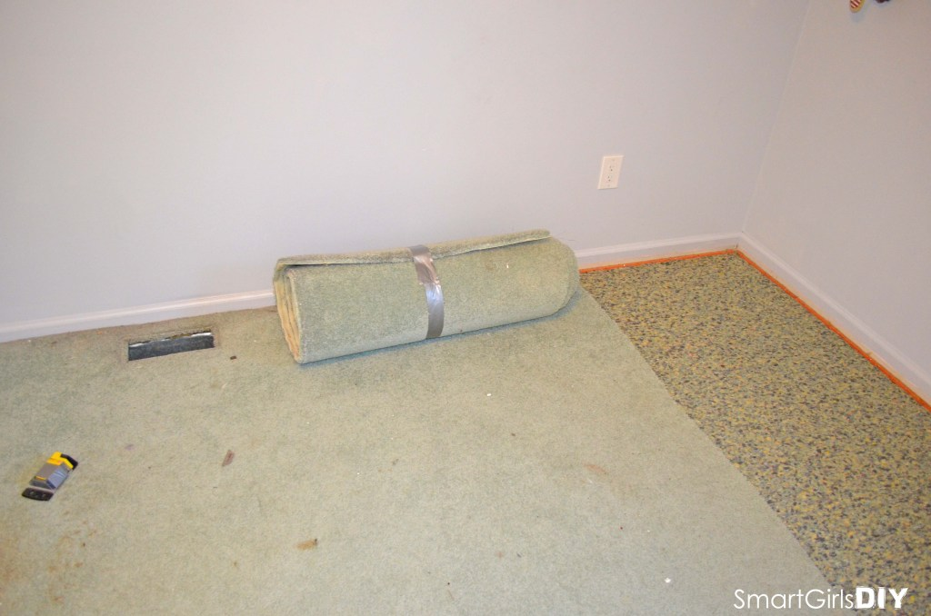 Roll up carpet strips