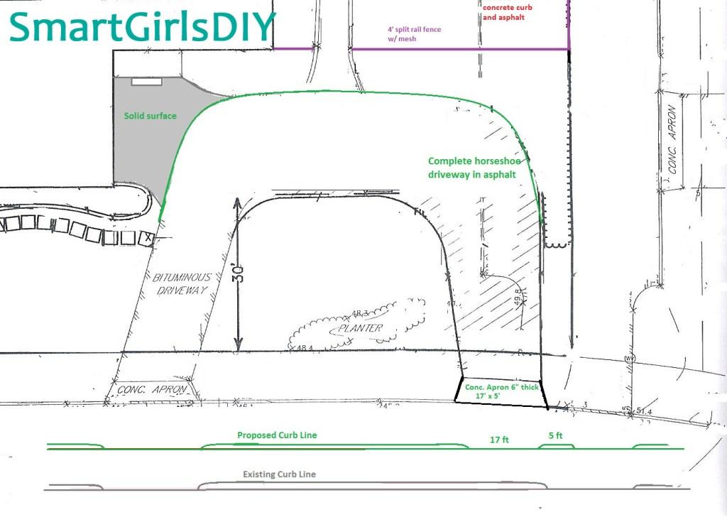 Driveway sketch