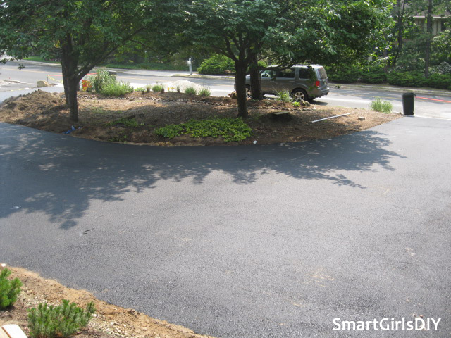 Smart Girls DIY - Asphalt Driveway Project