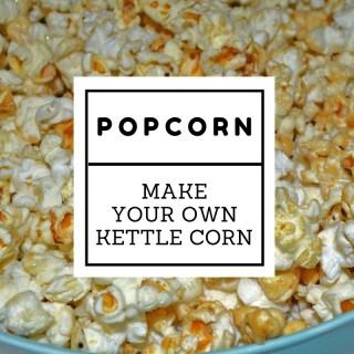 How to Make DIY Kettle Corn Popcorn