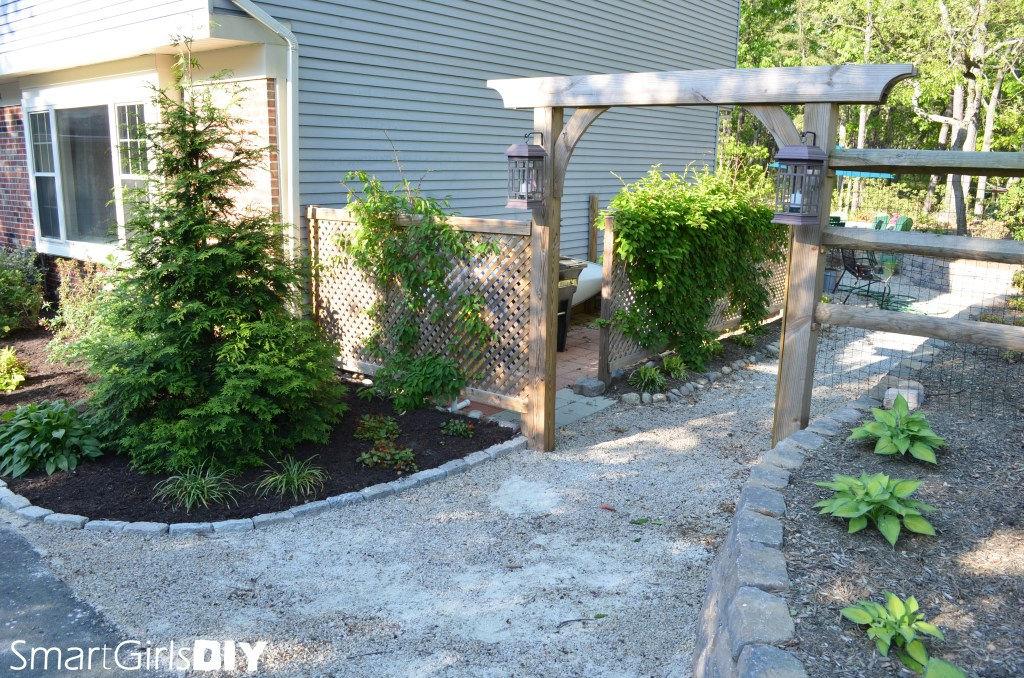 Smart Girls DIY - Garden Arbor Tutorial
