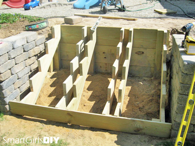 ... Stair Stringers Retaining Wall