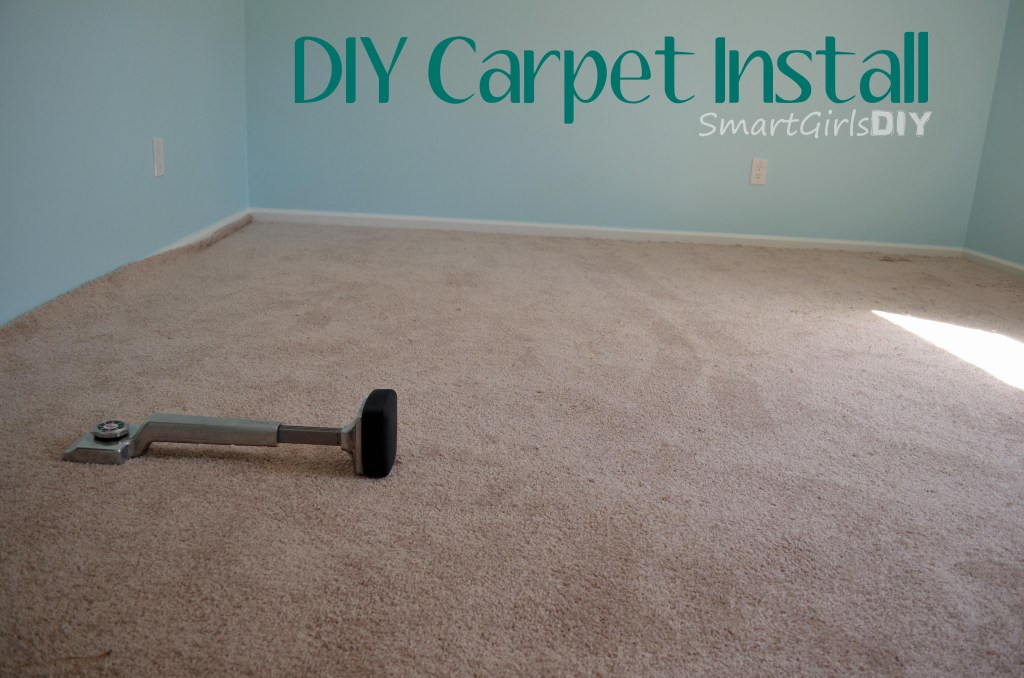 DIY Carpet Install - using a knee kicker