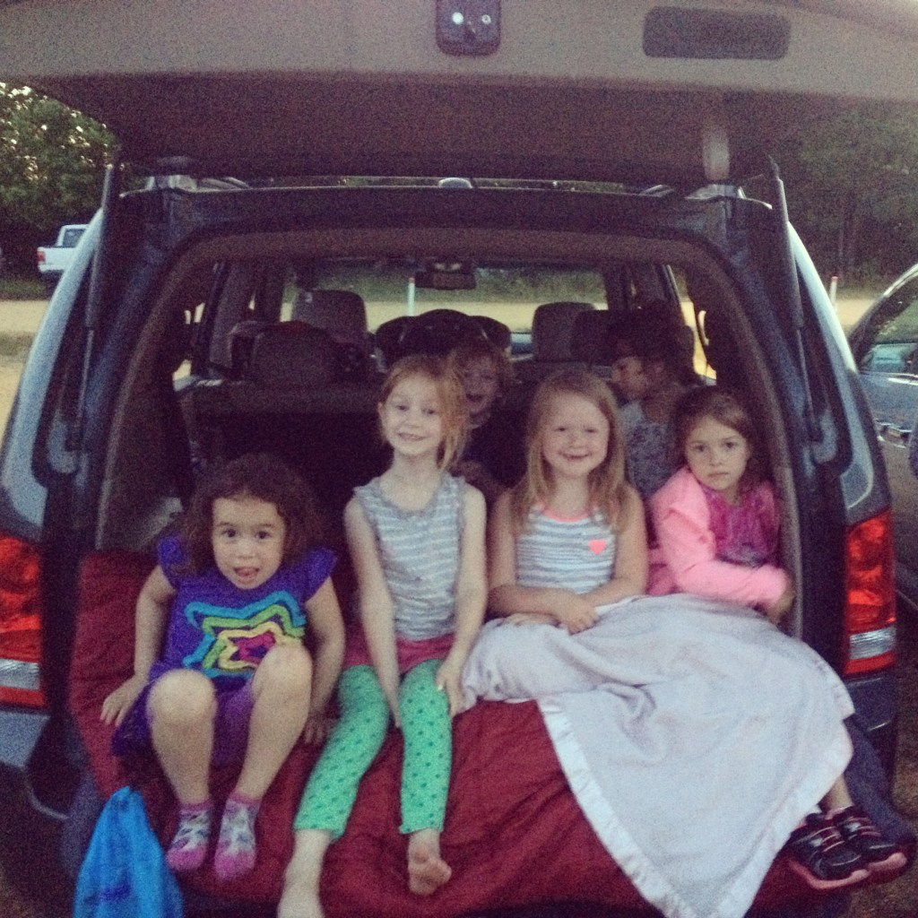 Daisy Girl Scouts - first drive-in movie