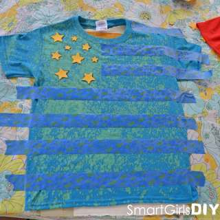 4th of July T-shirts – Super Easy Tutorial