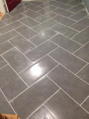 Lowes herringbone floor tile