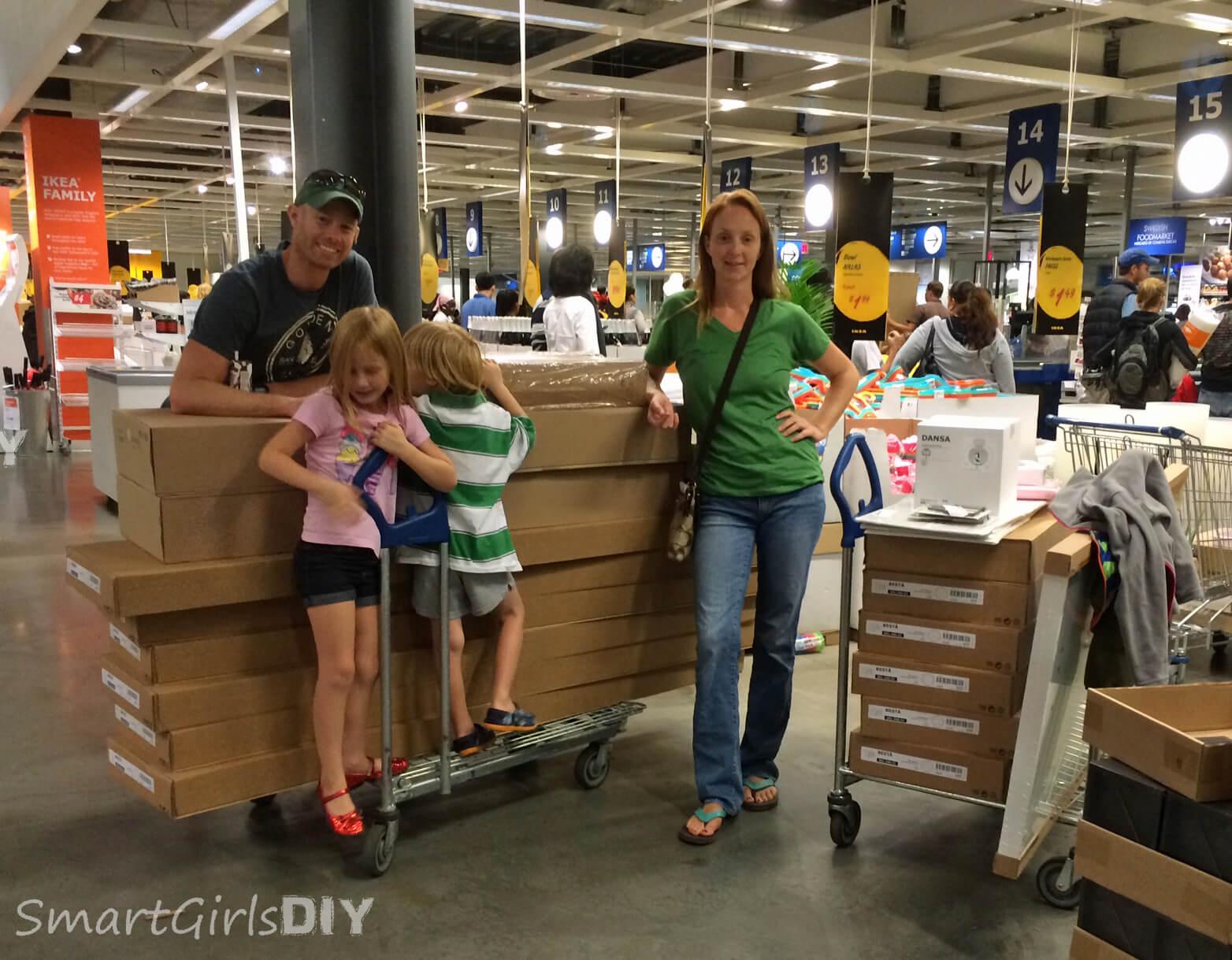 Buying out IKEA Philladelphia this weekend