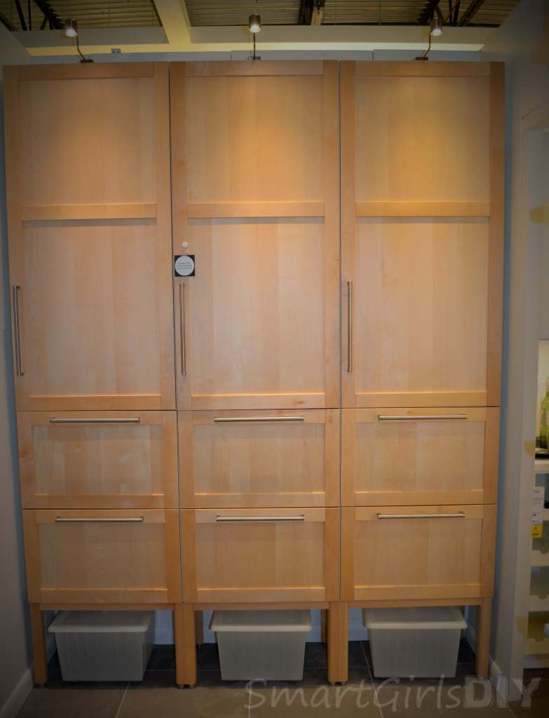 New SEKTION cabinets from ikea