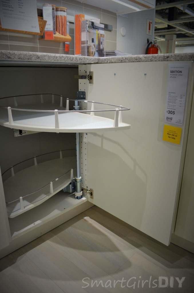 SEKTION UTRUSTA corner base cabinet