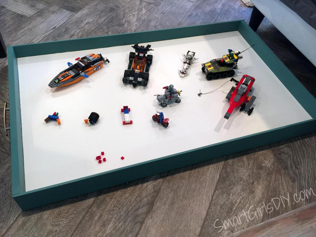 Lego Storage Drawer for under the couch