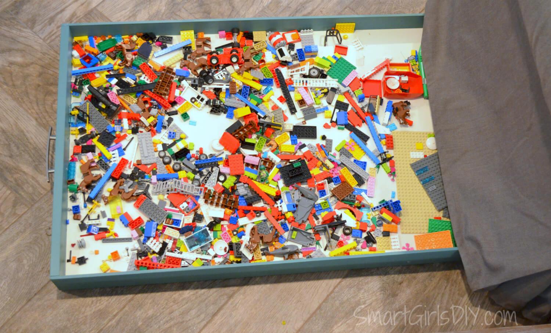 ... Lego Storage Ideas   Hidden Under Sofa ...