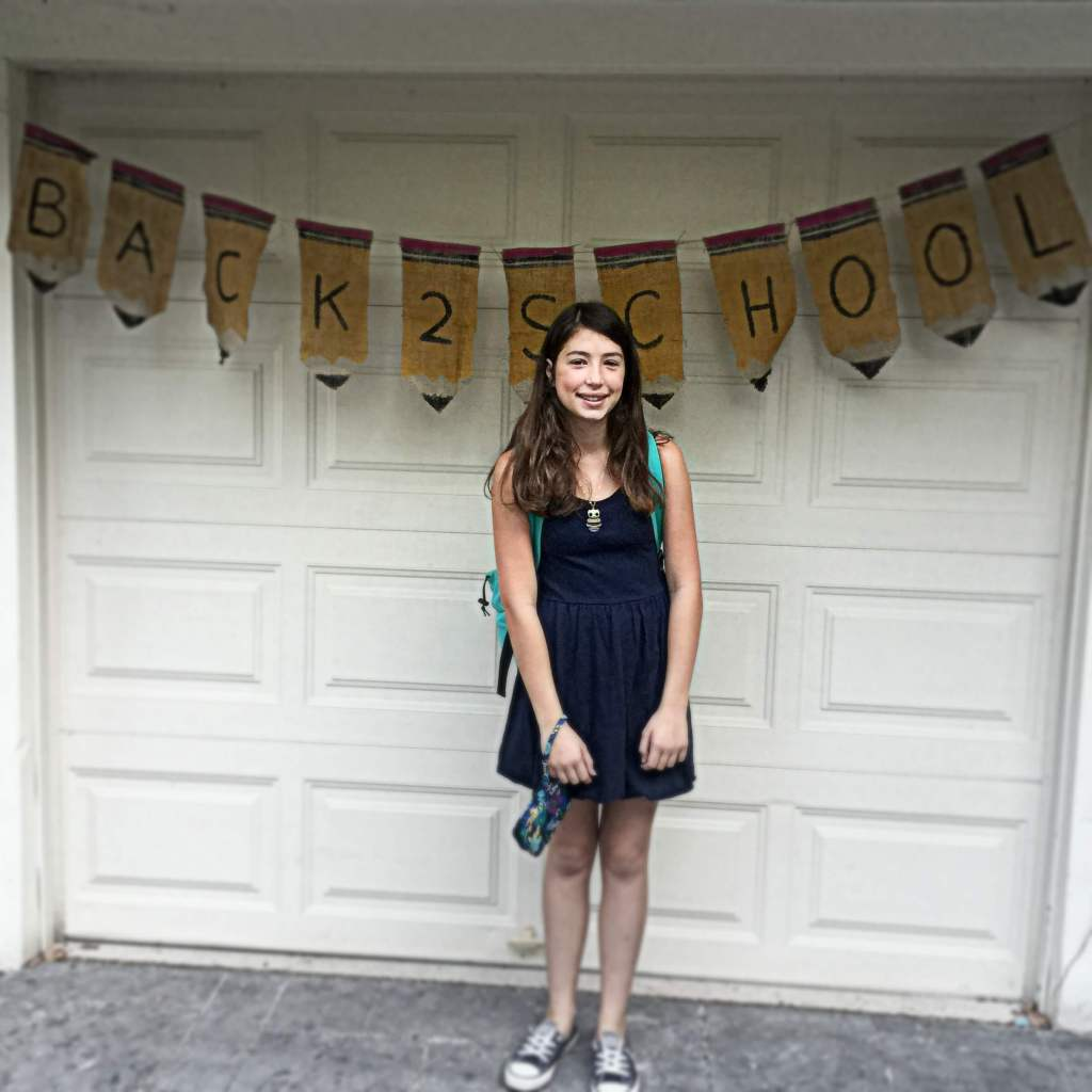 Back to school -- 8th grade