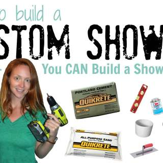 How to build a custom shower pan - Smart Girls DIY