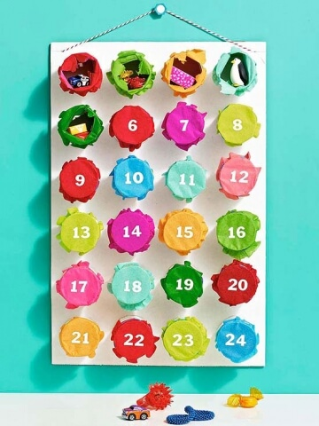 Toilet Paper Roll Advent Calendar by Parents Magazine