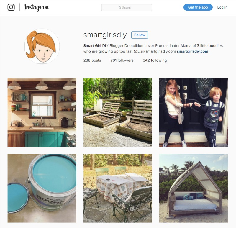 Follow Smart Girls DIY on Instagram