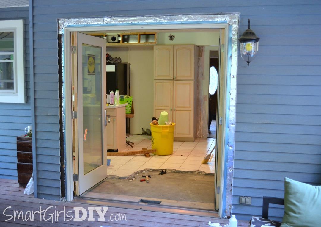 New Pella French Door Patio Doors Installed DIY & Installing Pella Patio Doors (Architect Series)