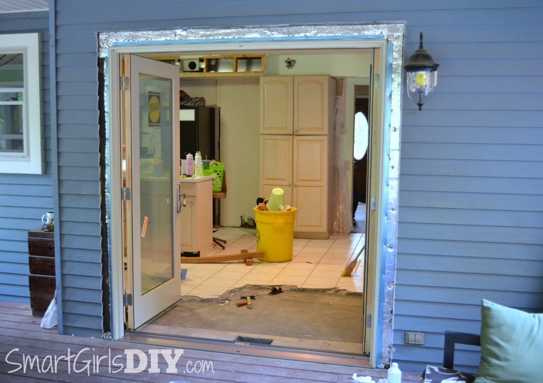 New Pella French Door Patio Doors Installed DIY