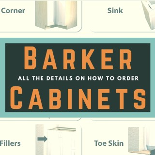 Ordering Barker Cabinets – part 1