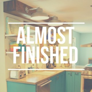 Sneak Peek: Almost Finished Kitchen