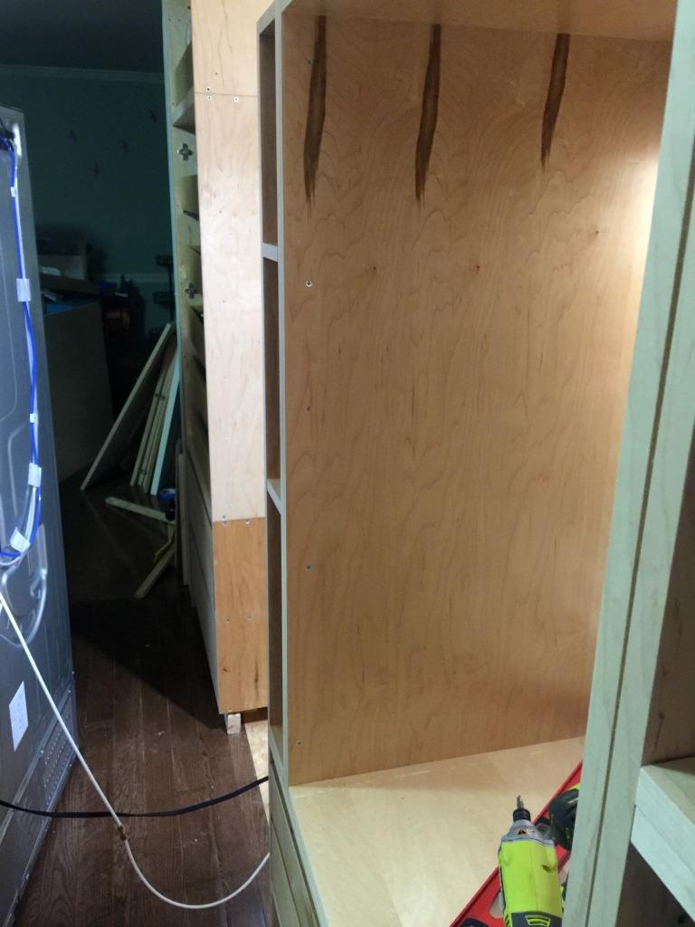 Installing Barker Cabinets